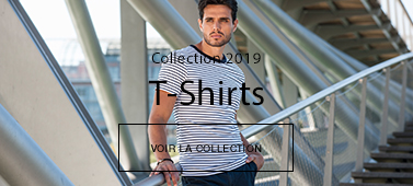 T-shirt marin homme coton